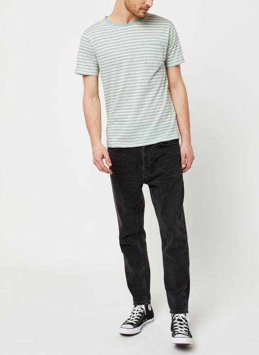 Vêtements Armor Lux T-Shirt Héritage Gris vue bas / vue portée sac