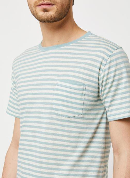 Vêtements Armor Lux T-Shirt Héritage Gris vue face