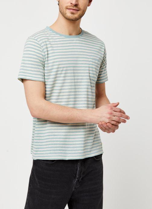 Vêtements Armor Lux T-Shirt Héritage Gris vue droite