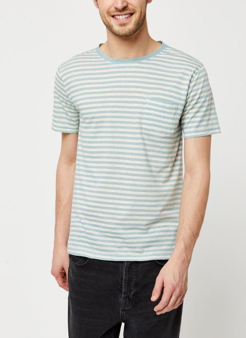 Vêtements Armor Lux T-Shirt Héritage Gris vue détail/paire