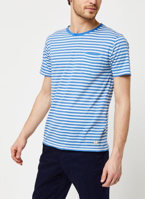 Vêtements Armor Lux T-Shirt Héritage Bleu vue droite