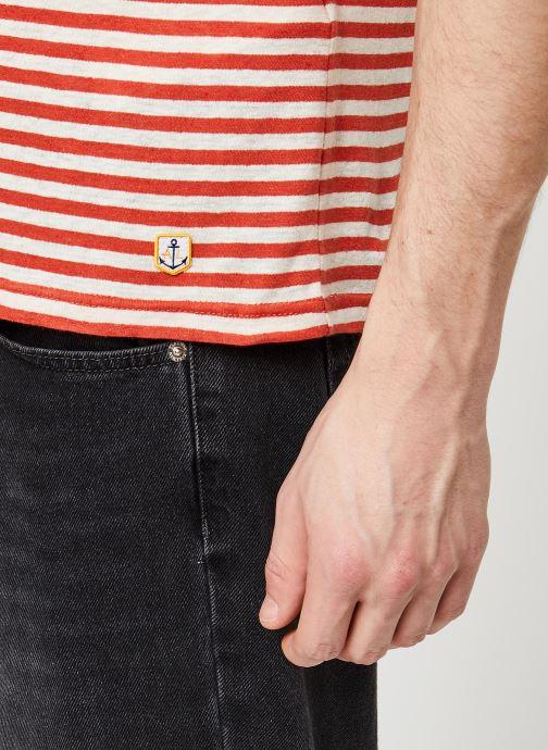 Vêtements Armor Lux T-Shirt Héritage Orange vue face