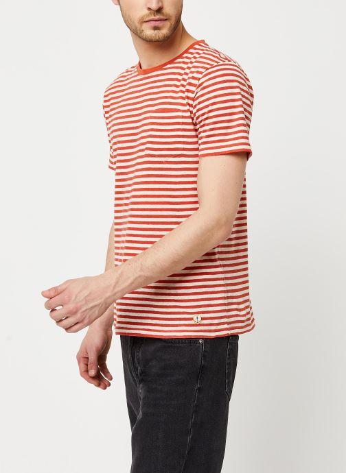 Vêtements Armor Lux T-Shirt Héritage Orange vue droite