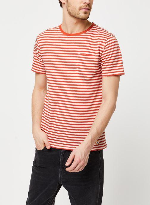 Vêtements Armor Lux T-Shirt Héritage Orange vue détail/paire