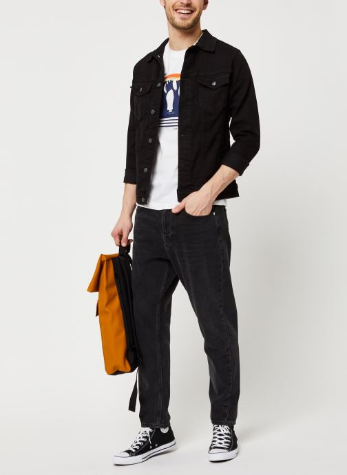 Vêtements Armor Lux T-Shirt Sérigraphié Blanc vue bas / vue portée sac