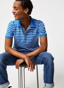 Vêtements Accessoires Polo MC Rayé Marin