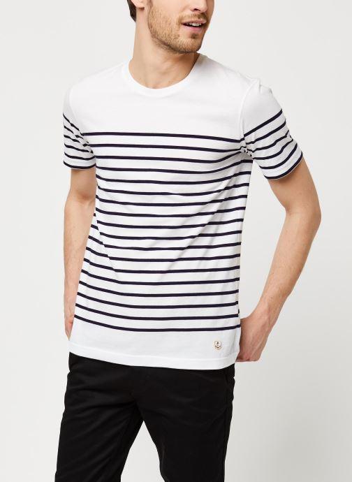 Vêtements Armor Lux Marinière Etel Héritage Blanc vue droite