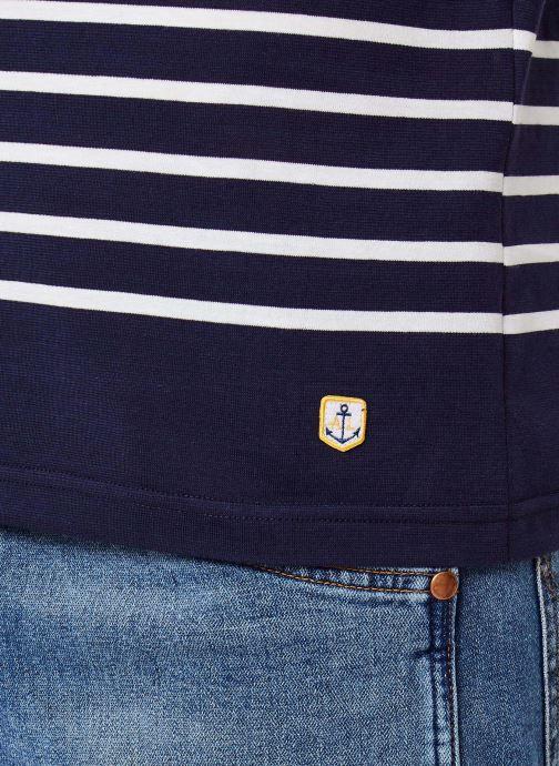 Vêtements Armor Lux Marinière Etel Héritage Bleu vue face