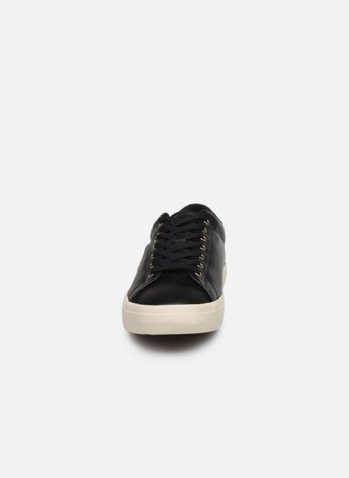 Sneaker Polo Ralph Lauren LONGWOOD schwarz schuhe getragen