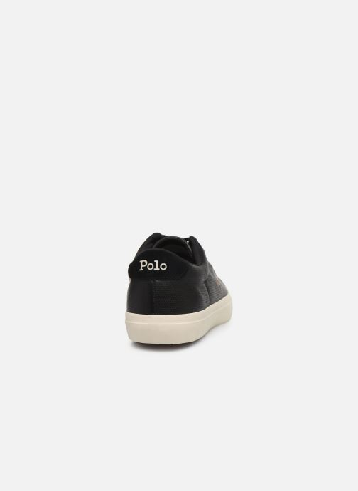 Sneaker Polo Ralph Lauren LONGWOOD schwarz ansicht von rechts