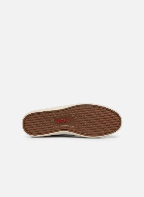 Sneaker Polo Ralph Lauren LONGWOOD schwarz ansicht von oben