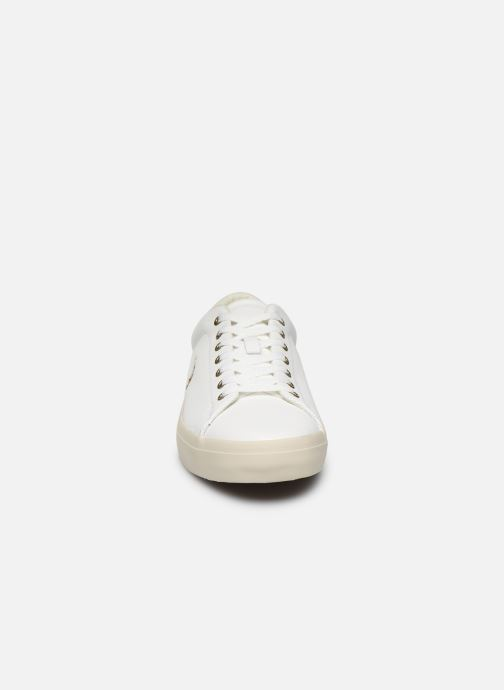 Baskets Polo Ralph Lauren LONGWOOD Blanc vue portées chaussures