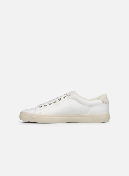 Baskets Polo Ralph Lauren LONGWOOD Blanc vue face