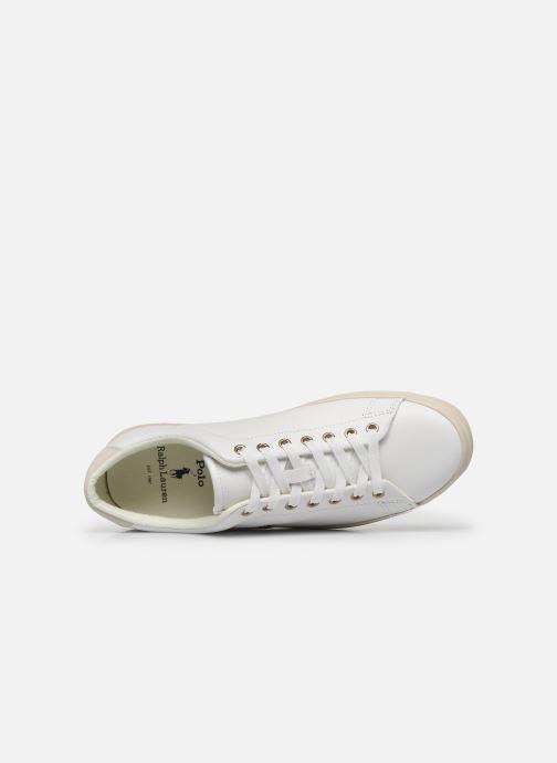 Sneaker Polo Ralph Lauren LONGWOOD weiß ansicht von links