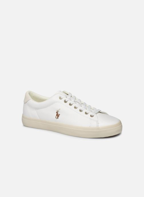 Baskets Polo Ralph Lauren LONGWOOD Blanc vue détail/paire
