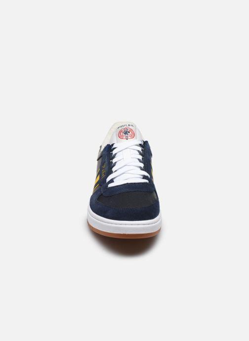 Baskets Polo Ralph Lauren POLO COURT Bleu vue portées chaussures