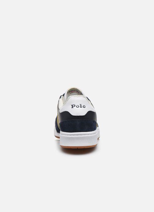 Baskets Polo Ralph Lauren POLO COURT Bleu vue droite
