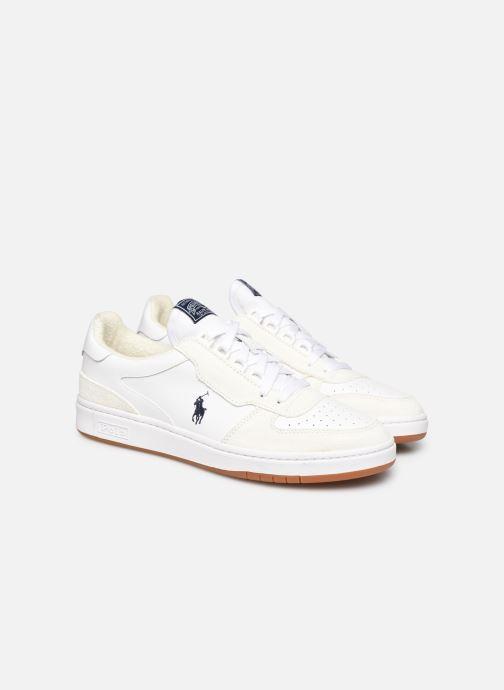 Sneaker Polo Ralph Lauren POLO COURT PP weiß 3 von 4 ansichten