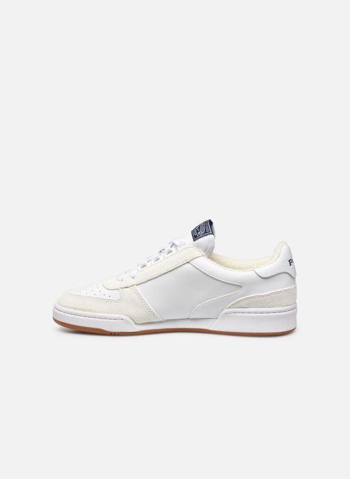 Sneaker Polo Ralph Lauren POLO COURT PP weiß ansicht von vorne