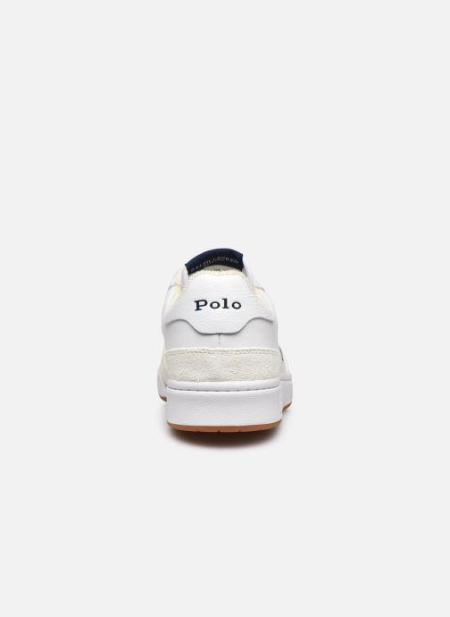 Sneaker Polo Ralph Lauren POLO COURT PP weiß ansicht von rechts