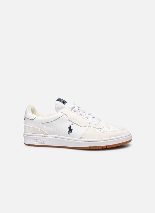 Sneaker Polo Ralph Lauren POLO COURT PP weiß ansicht von hinten