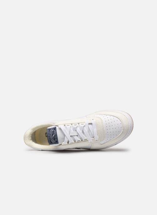 Sneaker Polo Ralph Lauren POLO COURT PP weiß ansicht von links