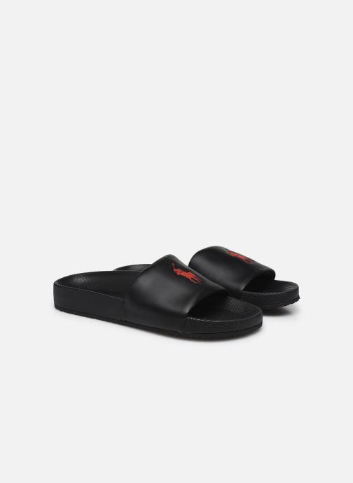 Sandales et nu-pieds Polo Ralph Lauren CAYSON Noir vue 3/4