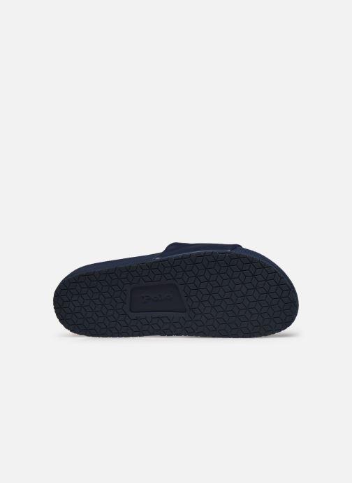 Sandales et nu-pieds Polo Ralph Lauren CAYSON Noir vue haut