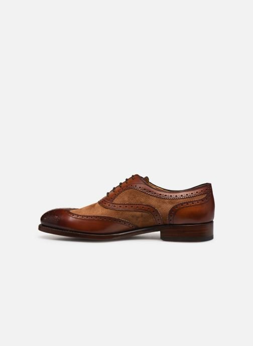 Zapatos con cordones Marvin&Co Luxe Wanty - Cousu Goodyear Marrón vista de frente