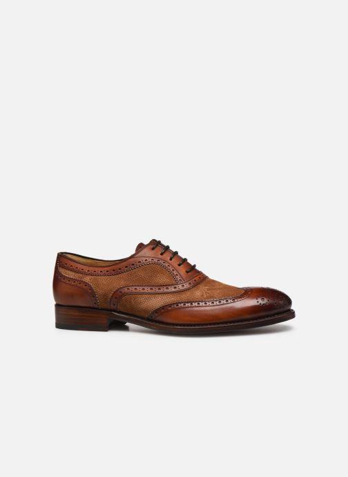 Chaussures à lacets Marvin&Co Luxe Wanty - Cousu Goodyear Marron vue derrière