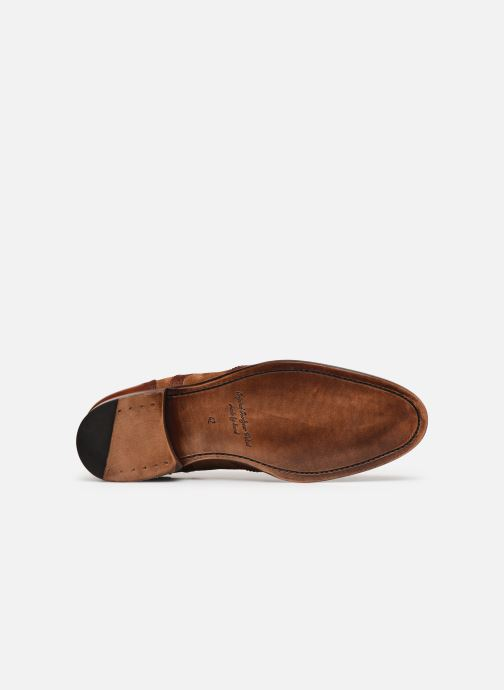Chaussures à lacets Marvin&Co Luxe Wanty - Cousu Goodyear Marron vue haut