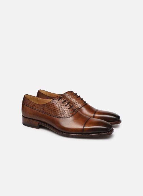 Zapatos con cordones Marvin&Co Luxe Wolter - Cousu Goodyear Marrón vista 3/4