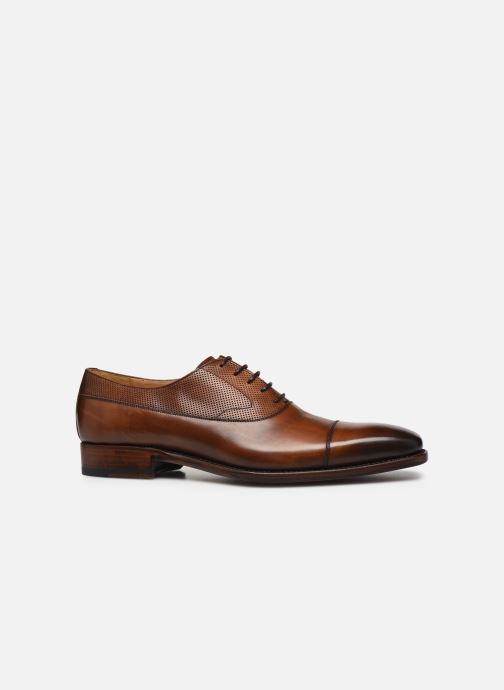 Chaussures à lacets Marvin&Co Luxe Wolter - Cousu Goodyear Marron vue derrière