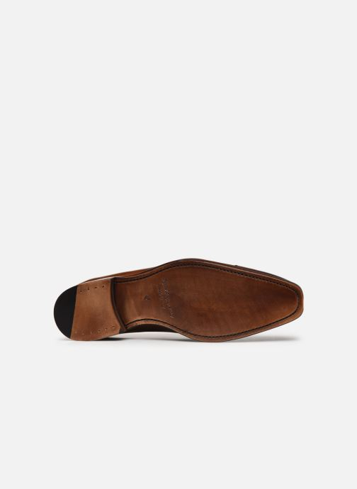 Chaussures à lacets Marvin&Co Luxe Wolter - Cousu Goodyear Marron vue haut