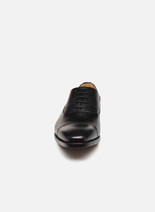 Chaussures à lacets Marvin&Co Luxe Wolter - Cousu Goodyear Noir vue portées chaussures