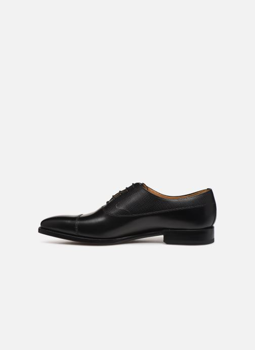 Chaussures à lacets Marvin&Co Luxe Wolter - Cousu Goodyear Noir vue face