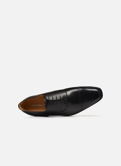 Chaussures à lacets Marvin&Co Luxe Wolter - Cousu Goodyear Noir vue gauche