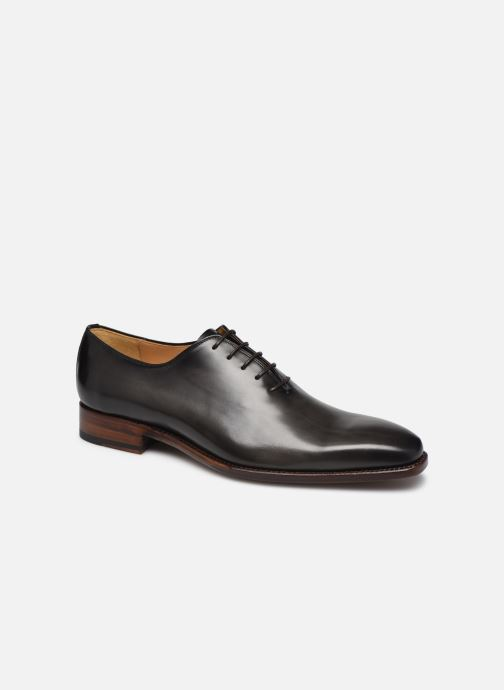 Lace-up shoes Marvin&Co Luxe Waltery - Cousu Goodyear Grey detailed view/ Pair view