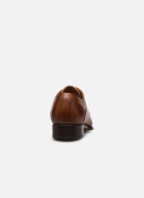 Scarpe con lacci Marvin&Co Luxe Donogan - Cousu Blake Marrone immagine destra