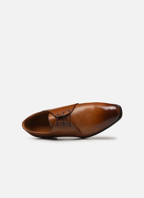 Scarpe con lacci Marvin&Co Luxe Donogan - Cousu Blake Marrone immagine sinistra