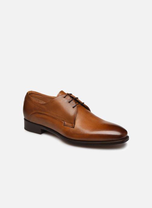 Snøresko Marvin&Co Luxe Donogan - Cousu Blake Brun detaljeret billede af skoene
