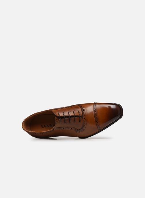 Zapatos con cordones Marvin&Co Luxe Danurio - Cousu Blake Marrón vista lateral izquierda