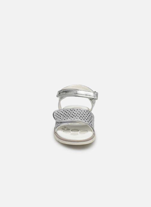 Sandales et nu-pieds Chicco Cassia Argent vue portées chaussures