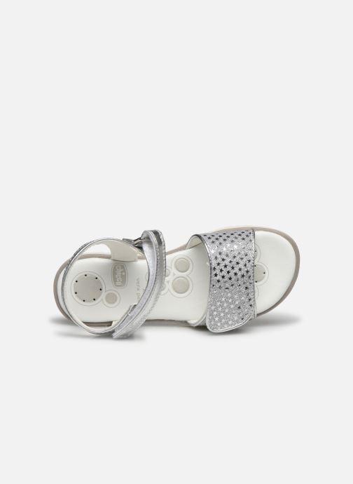 Sandales et nu-pieds Chicco Cassia Argent vue gauche