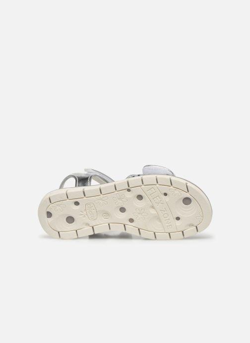 Sandali e scarpe aperte Chicco Cassia Argento immagine dall'alto
