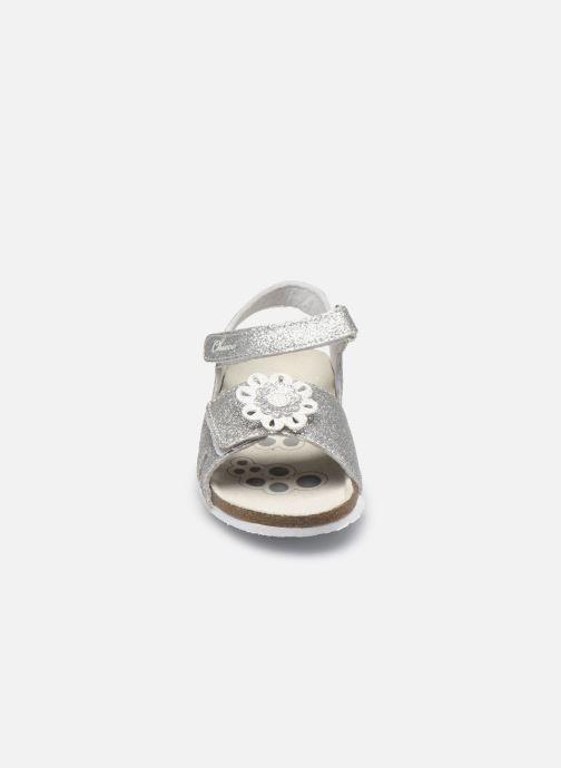 Sandali e scarpe aperte Chicco Hasia Argento modello indossato