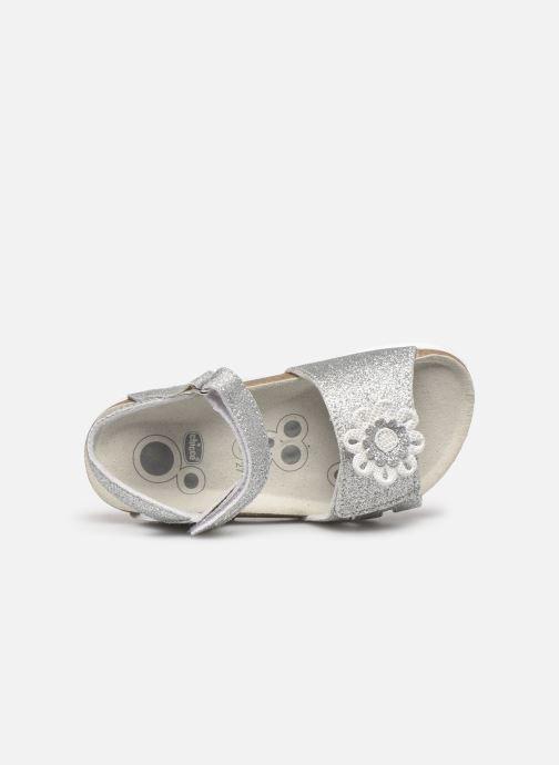 Sandali e scarpe aperte Chicco Hasia Argento immagine sinistra