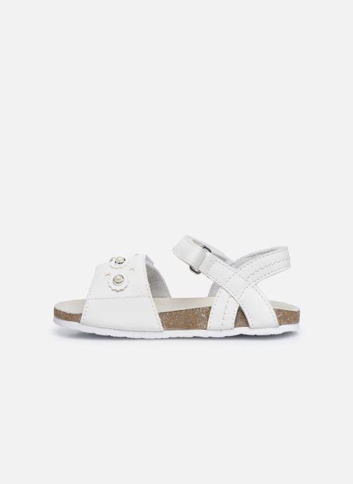Sandali e scarpe aperte Chicco Helena Bianco immagine frontale