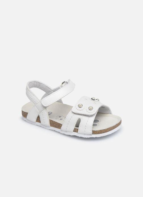 Sandales et nu-pieds Chicco Helena Blanc vue détail/paire