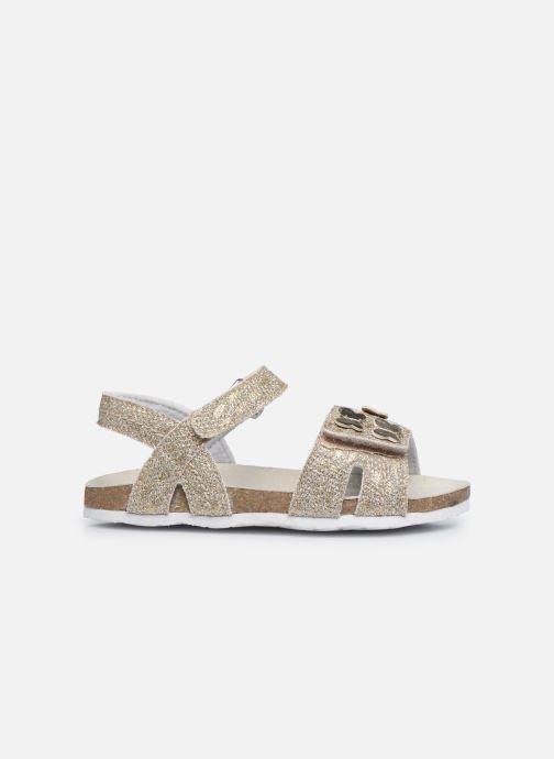 Sandales et nu-pieds Chicco Farfalla Or et bronze vue derrière